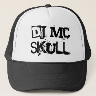 DJ MC SKULL TRUCKER HAT