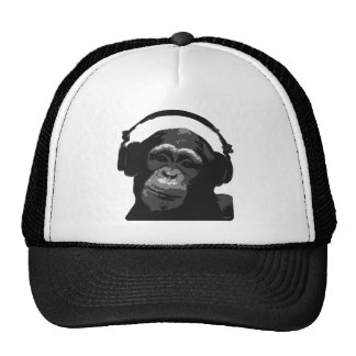 DJ MONKEY TRUCKER HAT
