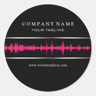 DJ/Music Sticker