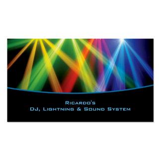 DJ Musical Company Business Card