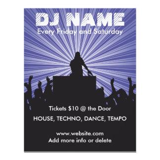DJ Name 2 Music Flyer
