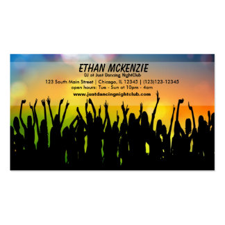 DJ NightClub Business Card Templates