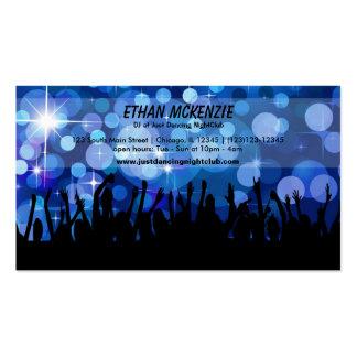 DJ NightClub Business Cards