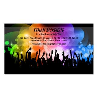 DJ NightClub Business Card Template