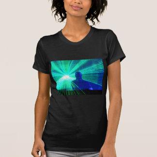 DJ On The Decks ladies petite t-shirt