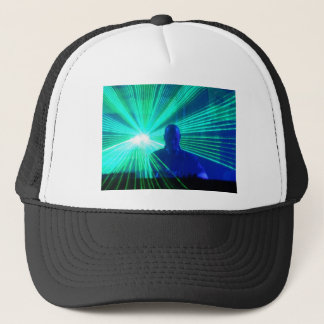 DJ on the decks Trucker Hat