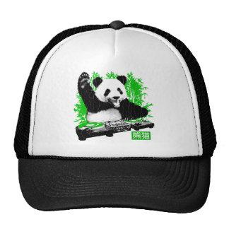 DJ Panda (vintage distressed look) Cap