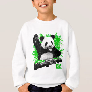 DJ Panda (vintage distressed look) Sweatshirt