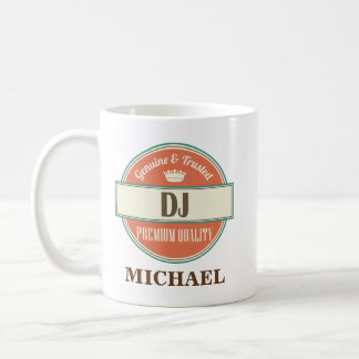 DJ Personalized Office Mug Gift