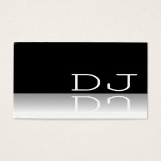 DJ - Reflective Text - Business Card