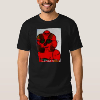DJ.SK Deformed Robot T-shirts