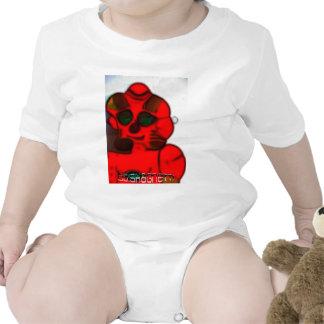 DJ.SK Deformed Robot Baby Bodysuits