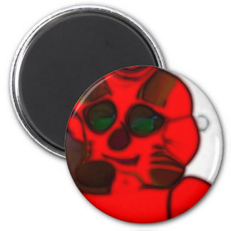 DJ.SK Deformed Robot w/o 6 Cm Round Magnet