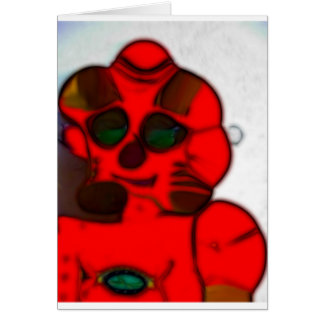 DJ.SK Deformed Robot w/o Greeting Card