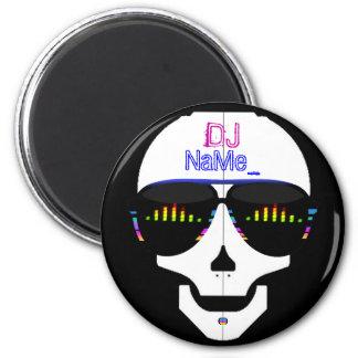 Dj Skull - Customized Magnet