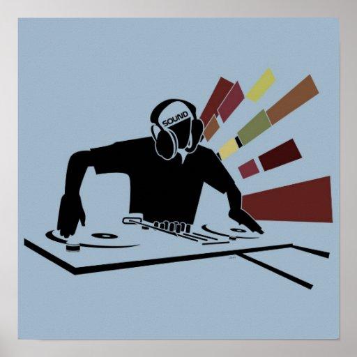 DJ SOUND POSTER
