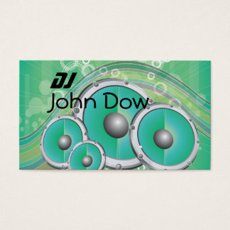 DJ Style Business Card