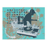 DJ T-shirts and Gifts Postcard