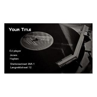 DJ-Time Business Card Templates