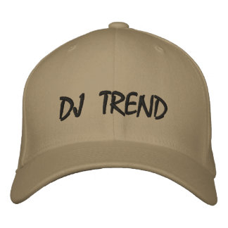 DJ TREND HAT EMBROIDERED BASEBALL CAP