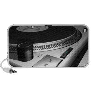 DJ Turntable Doodle speakers