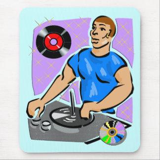 DJ Turntable Dreams Mouse Pad