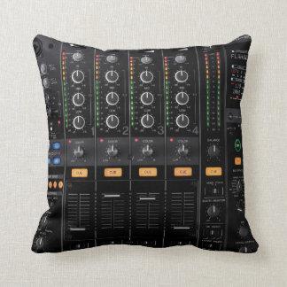 dj turntable mixer pillow