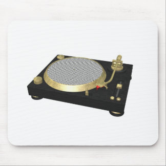 DJ turntable Mouse Pad