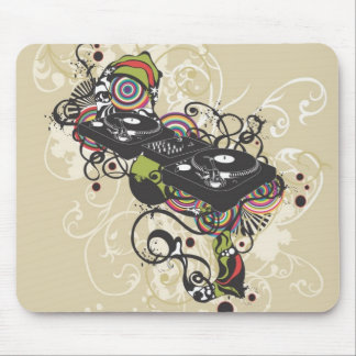 DJ turntable Mousepad