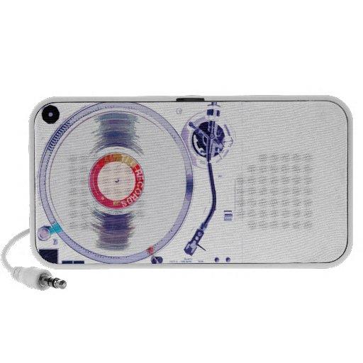 DJ Turntable Travelling Speaker