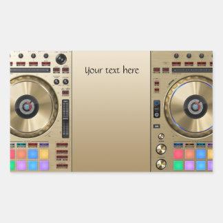 DJ turntable Sticker