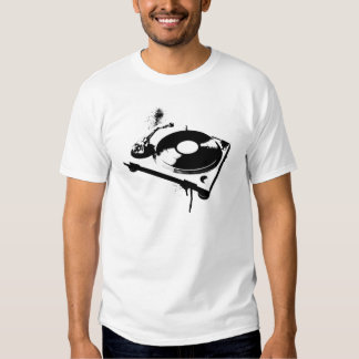 DJ Turntable Tee Shirts
