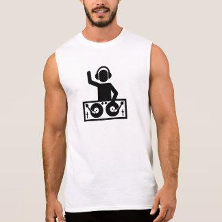 DJ Turntables Sleeveless Shirt