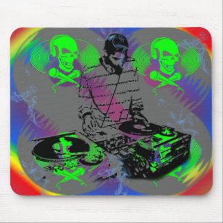 DJ Vinal Spinner Mouse Pad