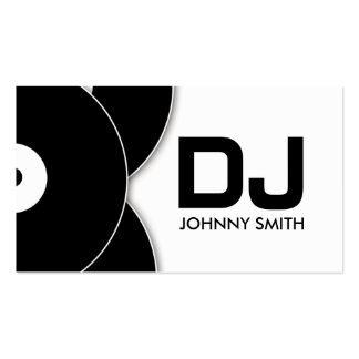 DJ Vinyl Record Music Business Card Pack Of Standard Business Cards