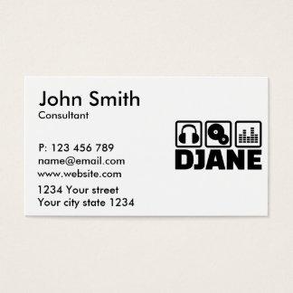Djane Business Card