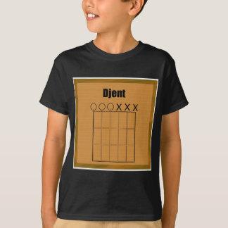 Djent Fret Board Diagram T-Shirt