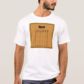 Djent Fret Board Diagram T-Shirt