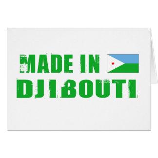 DJIBOUTI GREETING CARD
