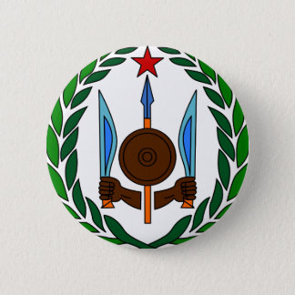 Djibouti coat of arms 6 cm round badge