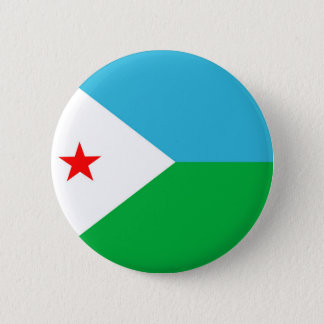 djibouti country flag nation symbol 6 cm round badge