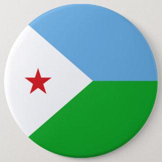 Djibouti Flag 6 Cm Round Badge