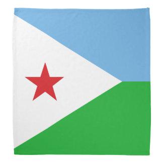 Djibouti Flag Bandana