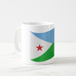 Djibouti Flag Coffee Mug