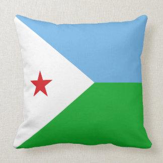 Djibouti Flag Cushion