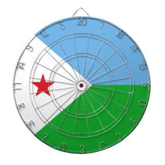 Djibouti Flag Dartboard