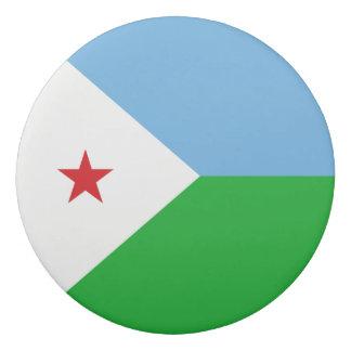 Djibouti Flag Eraser