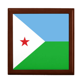 Djibouti Flag Gift Box