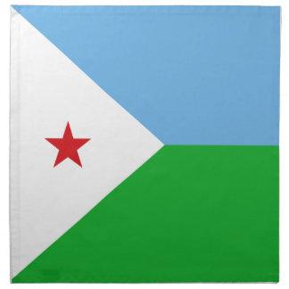 Djibouti Flag Napkin