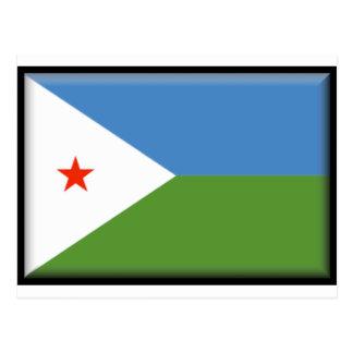 Djibouti Flag Postcard